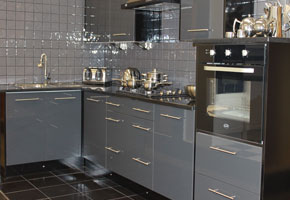 Home New Kitchens - Grey kitchen units sale